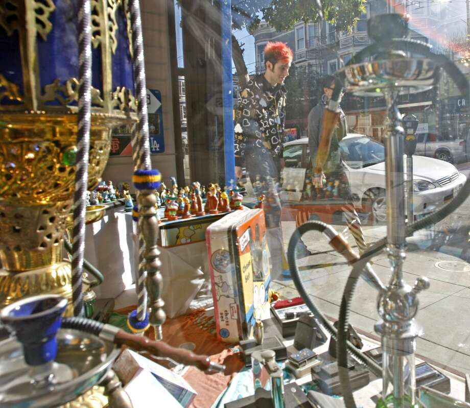 Know at least four different places to buy a pipe of some variety. Photo: Kurt Rogers, The Chronicle