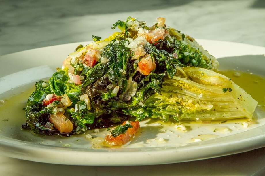 Grilled Little Gem Salad with pancetta Photo: John Storey, Special To The Chronicle