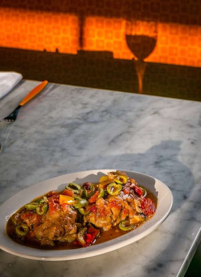 Chicken cacciatore Photo: John Storey, Special To The Chronicle