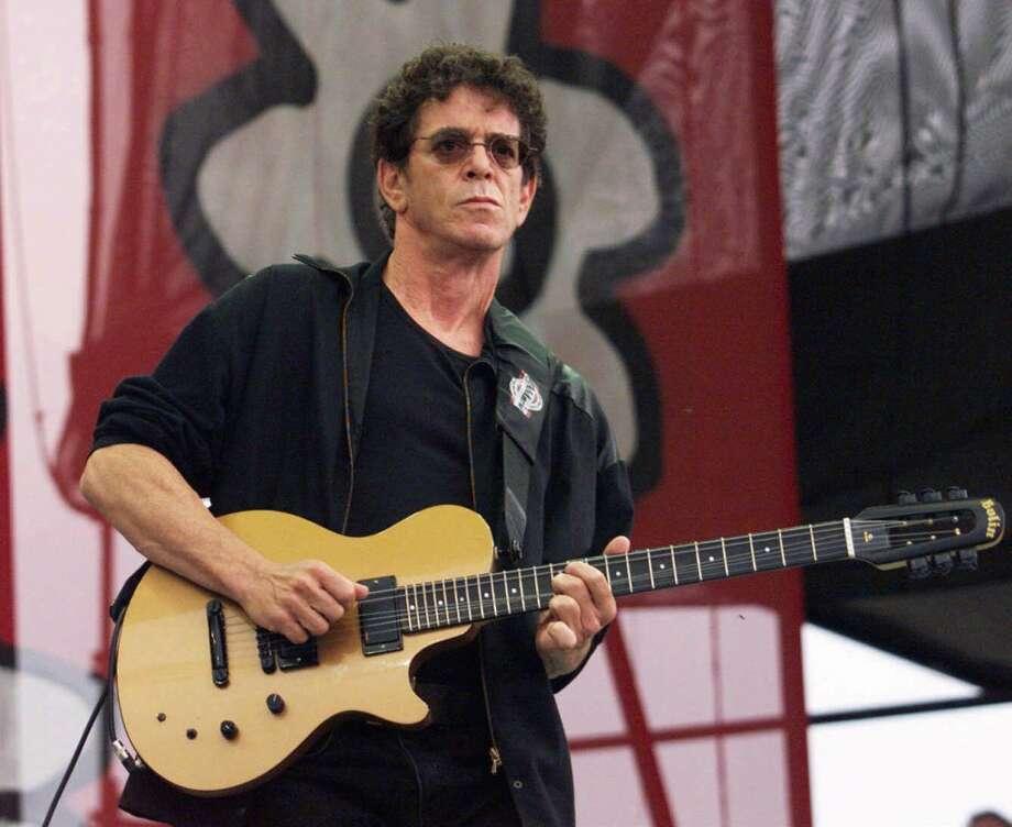 (GANNETT PHOTO NETWORK) MU-REED: Rock legend Lou Reed. (GNS Photo by Robert Deutsch, USA TODAY) Photo: GPN