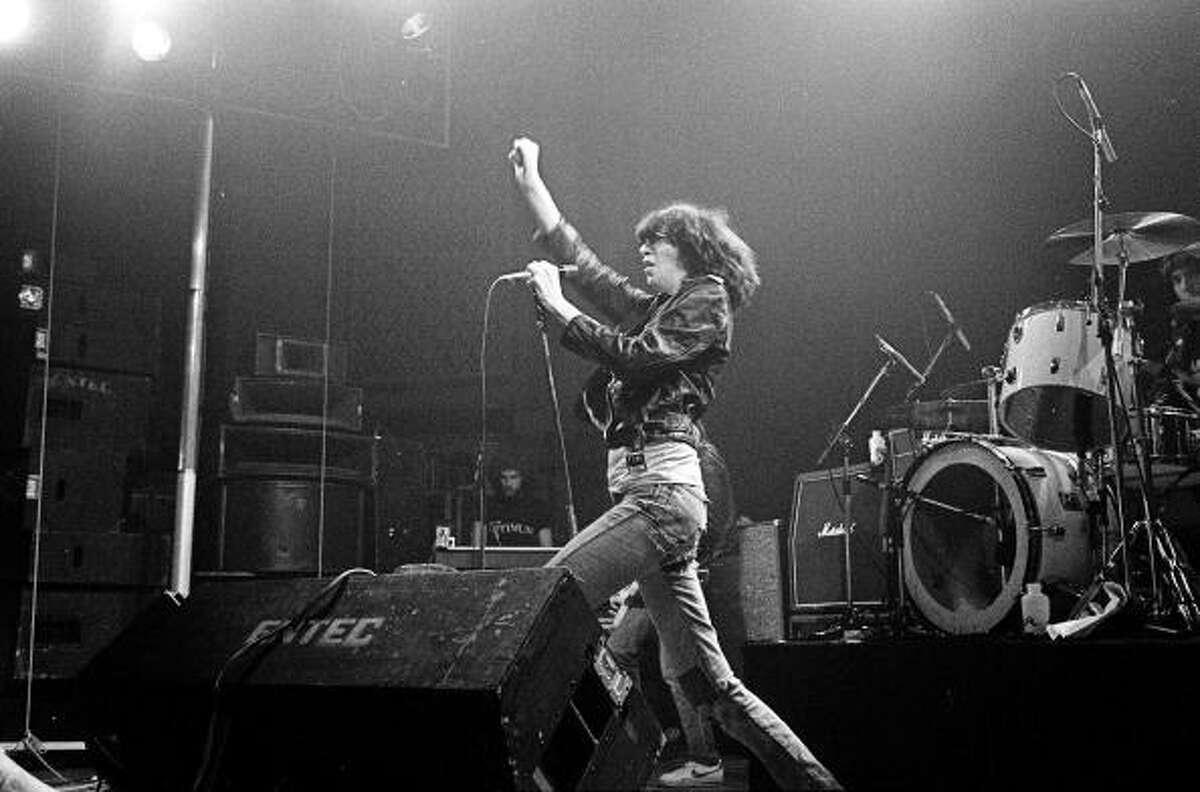 Joey Ramone, The Ramones. (May 19, 1951 - April 15, 2001)