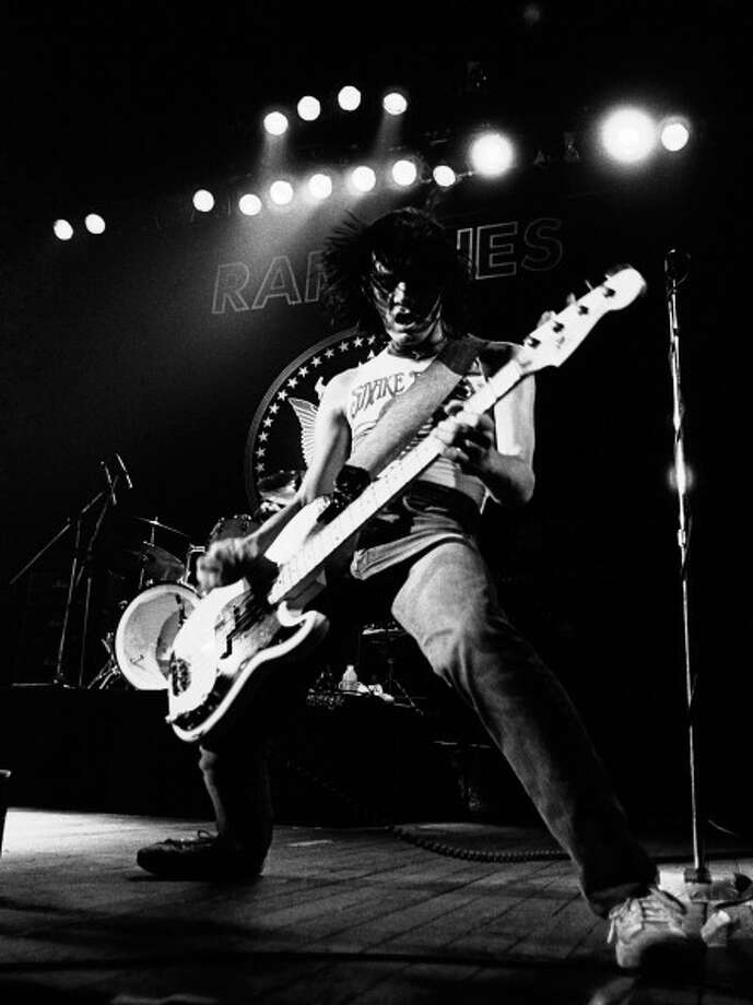 Dee Dee Ramone, The Ramones. (Sept. 18, 1951 - June 5, 2002) Photo: Gus Stewart, . / 1978 Gus Stewart