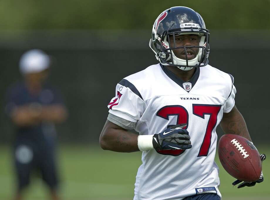 Ray Graham  Rookie was on the Texans' practice squad. Photo: James Nielsen, Houston Chronicle