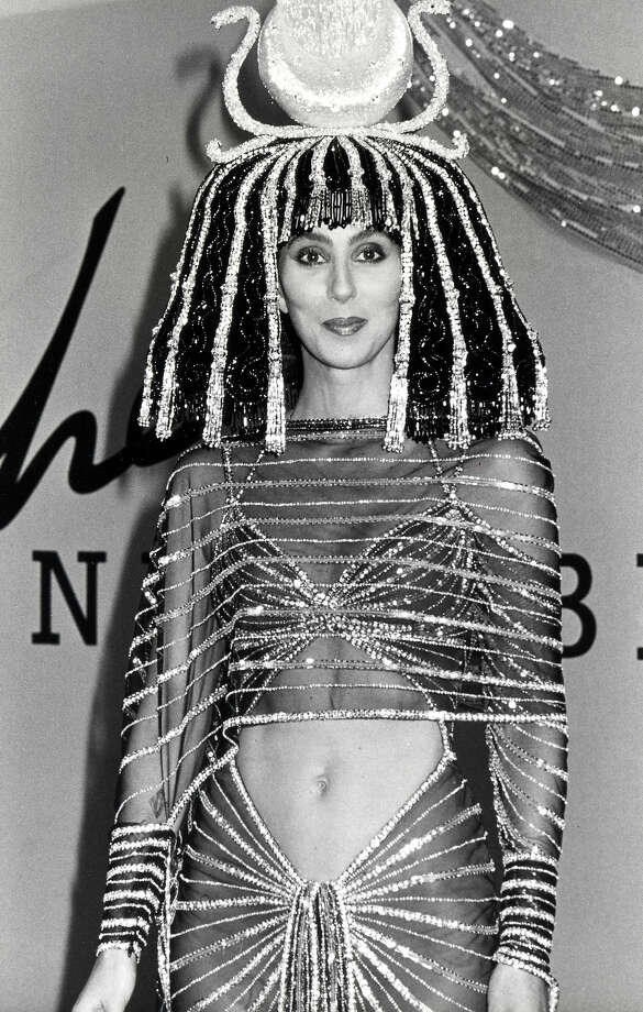 Cher at Bob Mackie's 1988 Halloween Party. Photo: Ron Galella, WireImage / Ron Galella Collection