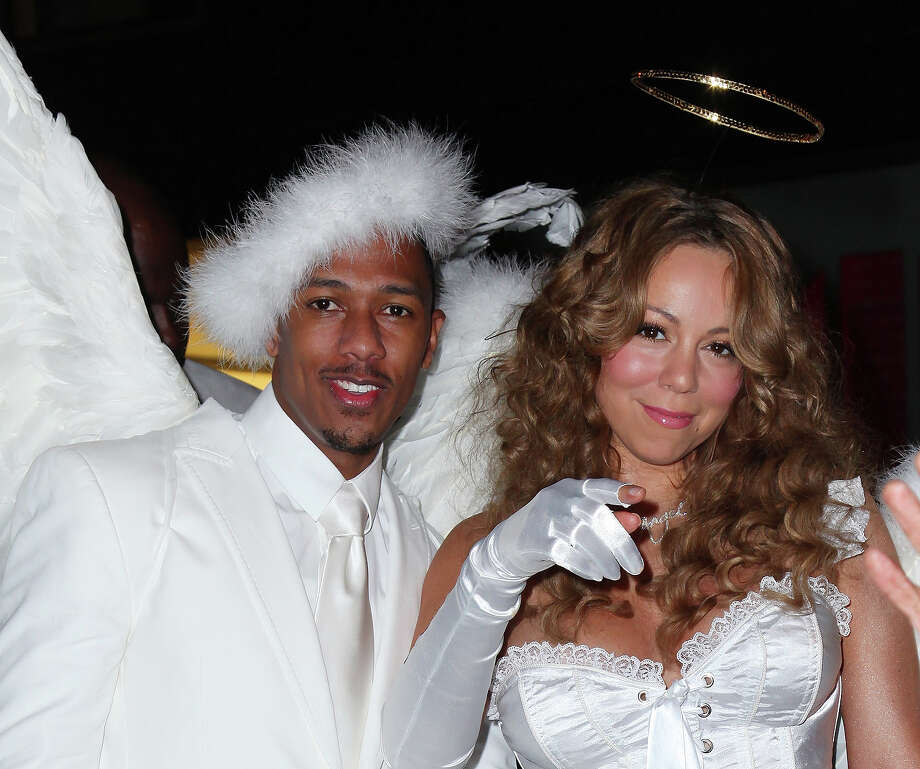 Actor-TV personality Nick Cannon (L) and singer Mariah Carey attends a Halloween celebration at M2 Ultra Lounge on October 31, 2009 in New York City. Photo: Mike Coppola, Getty Images / 2009 Getty Images