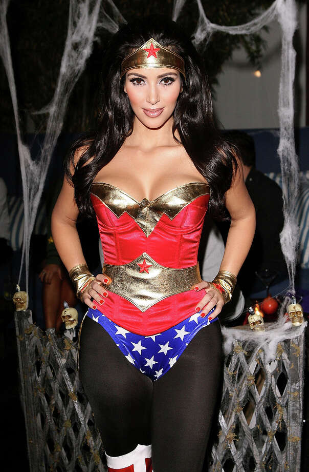 Kim Kardashian attends her Halloween party hosted by PAMA at Stone Rose on October 30, 2008 in Los Angeles. Photo: Jesse Grant, WireImage / WireImage