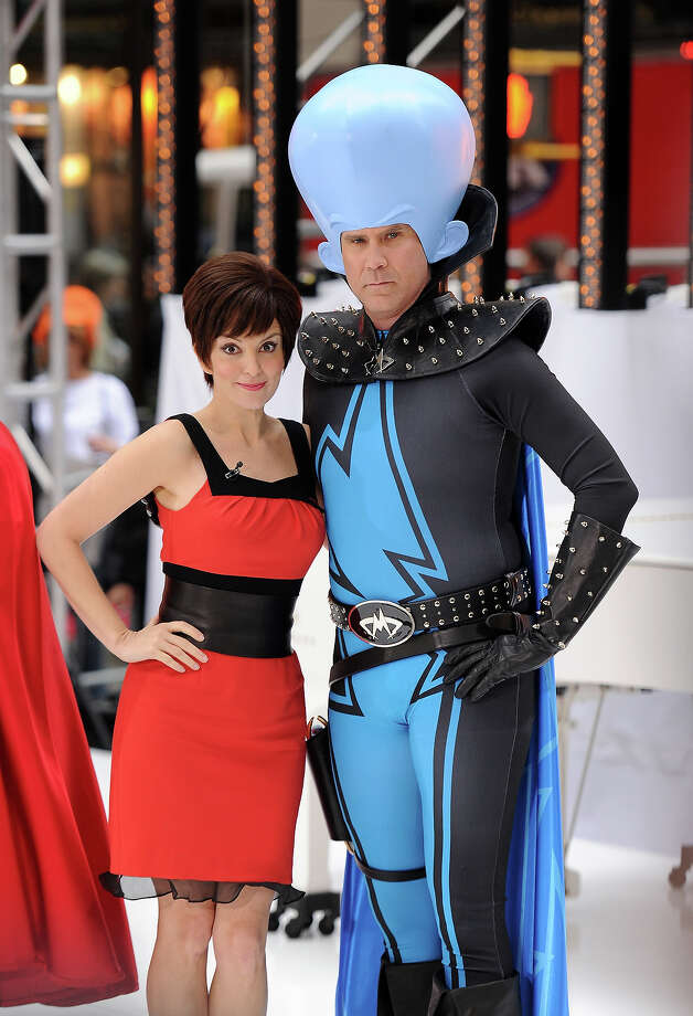 "Actors Tina Fey and Will Ferrell appear on NBC's ""Today"" Halloween episode at Rockefeller Plaza on October 29, 2010 in New York City. Photo: Stephen Lovekin, Getty Images / 2010 Getty Images"