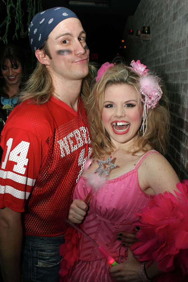 "Gavin Creel and Megan Hilty at the ""Broadway Cares Wicked Halloween Party"" to Benefit AIDS and The Gulf Coast Relief in 2005. Photo: Bruce Glikas, FilmMagic / FilmMagic"
