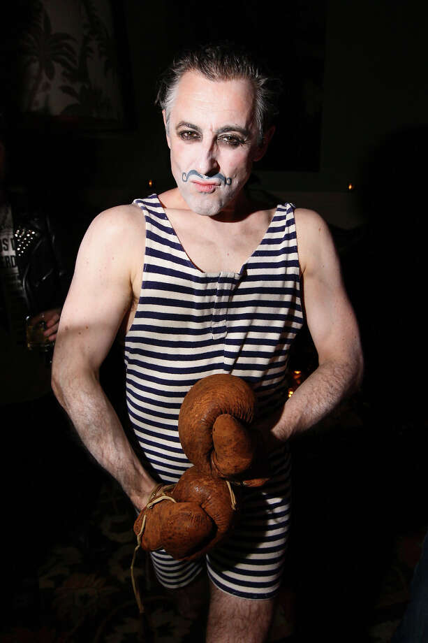 Actor Alan Cumming attends his Halloween party at the Soho Grand Hotel on October 29, 2011 in New York City. Photo: Neilson Barnard, Getty Images / 2011 Getty Images