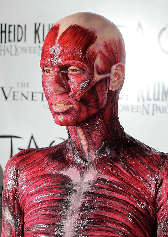 Heidi Klum attends her 12th Annual Halloween Party at TAO Nightclub at the Venetian on October 29, 2011 in Las Vegas. Photo: Chris Weeks, WireImage / 2011 Chris Weeks