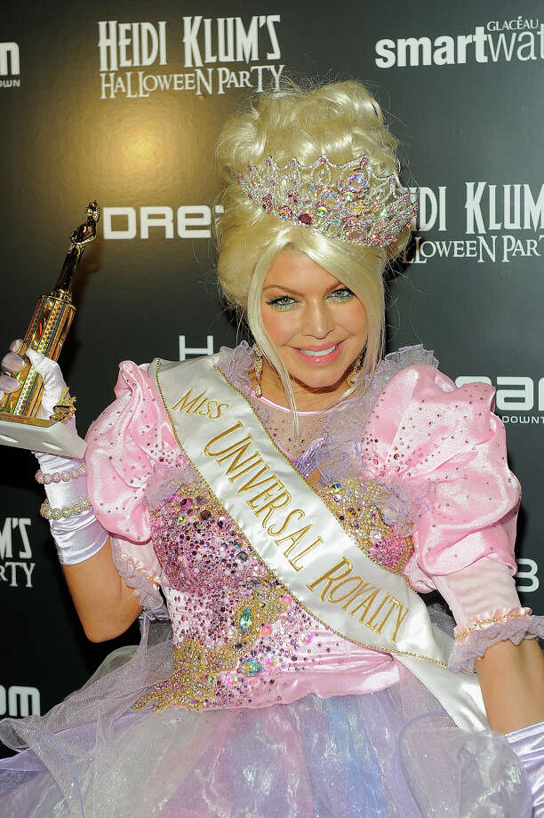 Fergie attends Heidi Klum's 12th annual Halloween party at the PH-D Rooftop Lounge at Dream Downtown on October 31, 2011 in New York City. Photo: Jemal Countess, Getty Images / 2011 Getty Images
