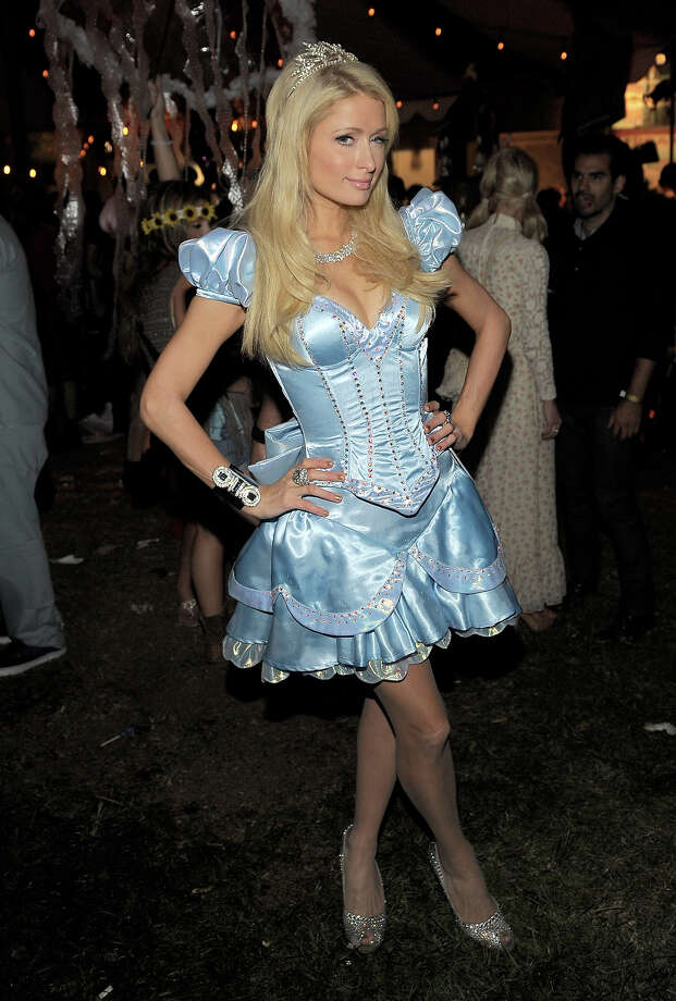 Paris Hilton attends Bacardi and Maroon 5's Annual Halloween Bash held at Hollywood Forever Cemetery on October 31, 2011 in Hollywood. Photo: Charley Gallay, WireImage / 2011 WireImage