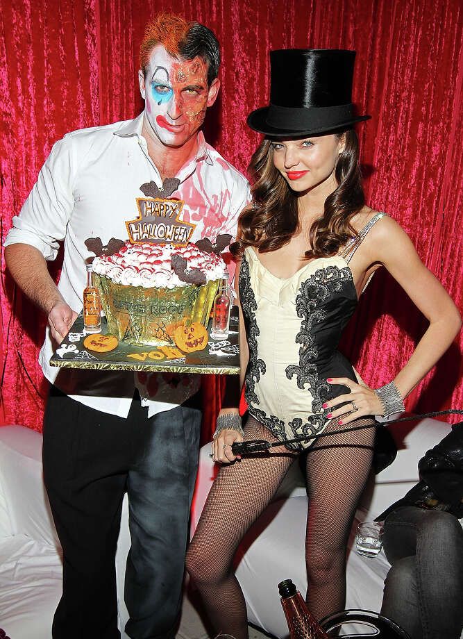 Mark Birnbaum and Miranda Kerr attends Miranda Kerr's Sexy Circus Halloween Party at Catch Rooftop on October 31, 2011 in New York City. Photo: Jerritt Clark, WireImage / 2011 Jerritt Clark