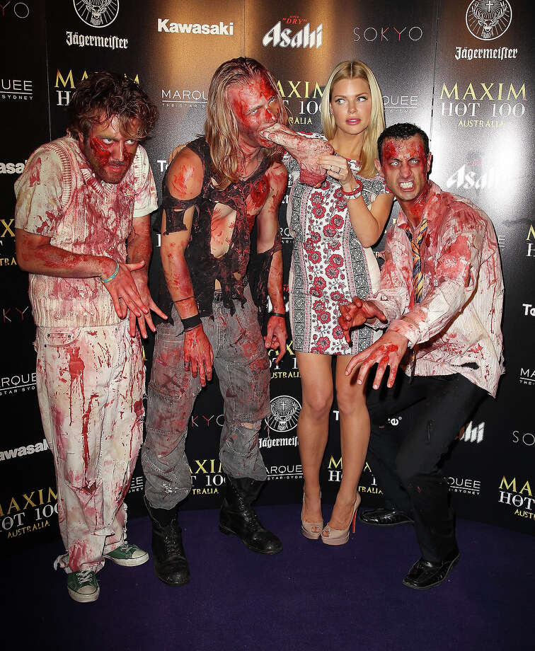 Sophie Monk attends the Maxim Australia Hot 100 Halloween Party  at Marquee Nightclub on October 31, 2012 in Sydney, Australia. Photo: Don Arnold, WireImage / 2012 Don Arnold