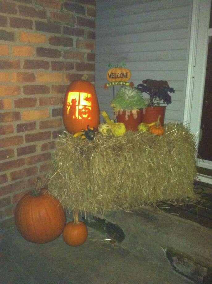 Our pumpkin fun by James McClenaghan. Photo: James McClenaghan