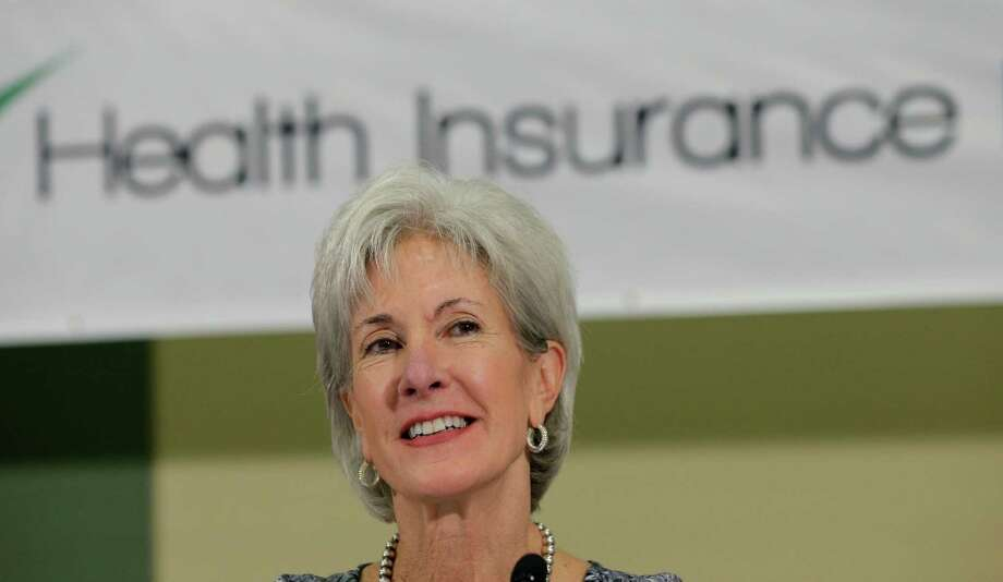 Health and Human Services Secretary Kathleen Sebelius sits on a panel to answer questions about the Affordable Care Act enrollment, Friday, Oct. 25, 2013, in San Antonio. Photo: Eric Gay, AP / AP
