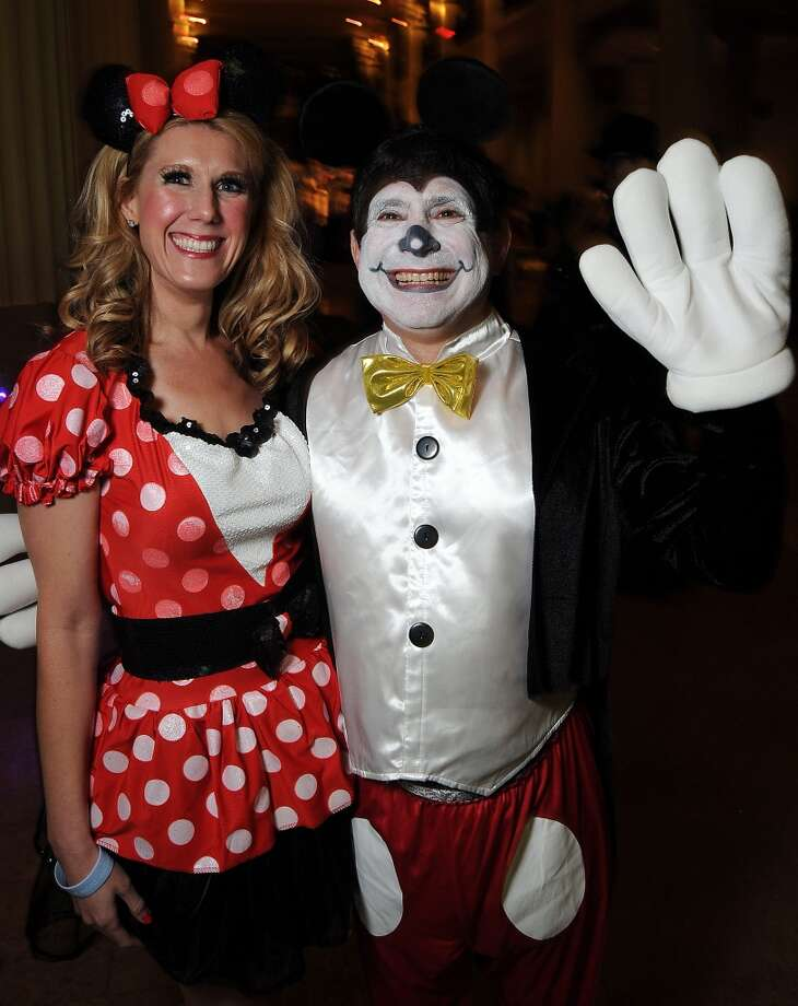 Stephanie and Fred Pevow at the 5th annual Bash: A Halloween Happening Photo: Dave Rossman, For The Houston Chronicle