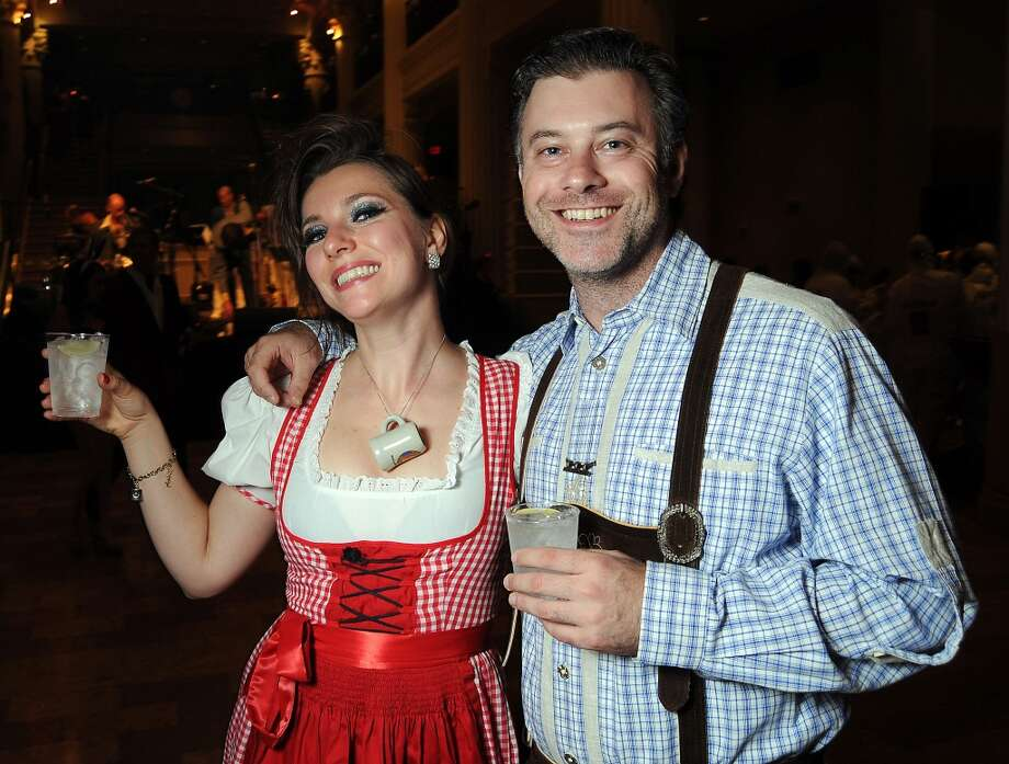 Angelina Von Graff and Tyson Horsley at the 5th annual Bash: A Halloween Happening Photo: Dave Rossman, For The Houston Chronicle