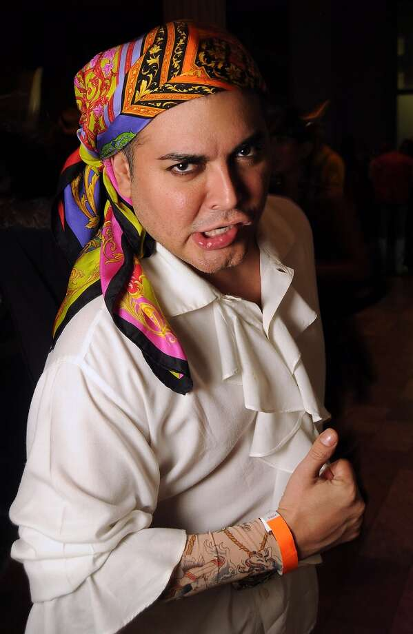 Edward Sanchez at the 5th annual Bash: A Halloween Happening Photo: Dave Rossman, For The Houston Chronicle