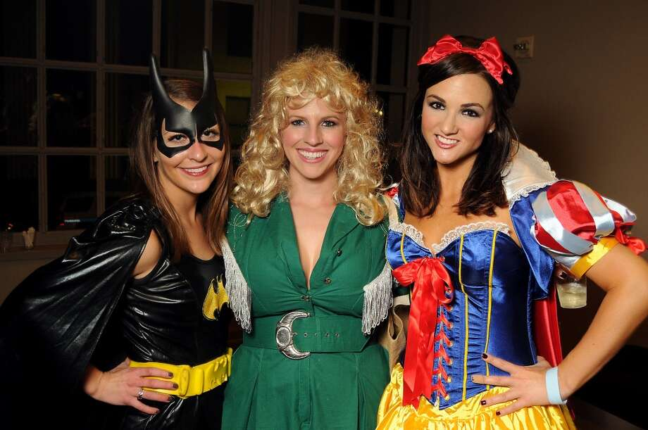 From left: Madison Shofner, Erin Upton and Jenny Barnes at the 5th annual Bash: A Halloween Happening Photo: Dave Rossman, For The Houston Chronicle