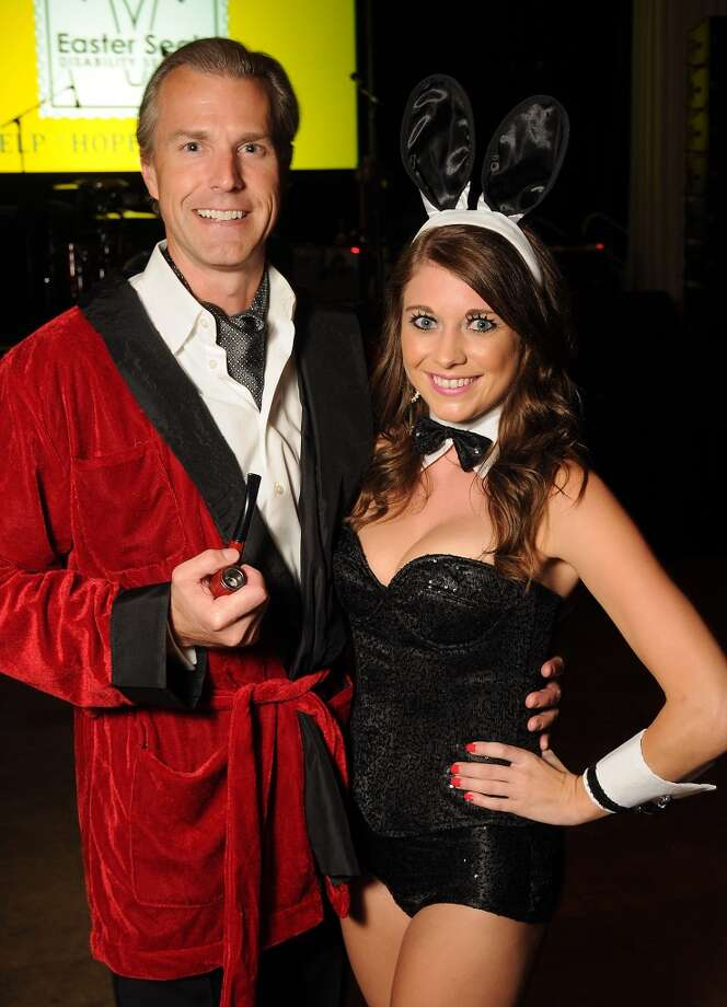 Andrew Rentz and Amy Hall at the 5th annual Bash: A Halloween Happening Photo: Dave Rossman, For The Houston Chronicle