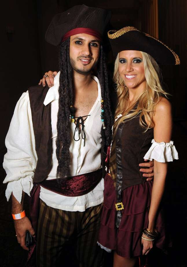 Julian and Karissa Mithani at the 5th annual Bash: A Halloween Happening Photo: Dave Rossman, For The Houston Chronicle