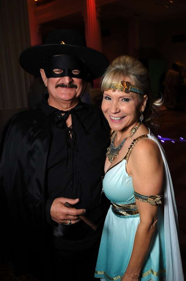 Hugo and Linda MonDragon at the 5th annual Bash: A Halloween Happening Photo: Dave Rossman, For The Houston Chronicle