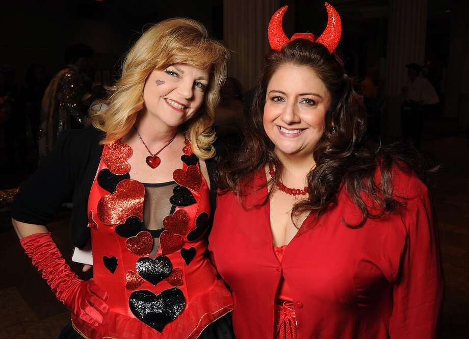 Kim Padgett and Sonia Foto at the 5th annual Bash: A Halloween Happening Photo: Dave Rossman, For The Houston Chronicle