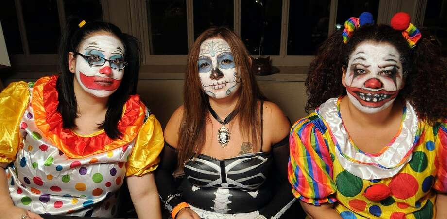 From left: Nicole Gonzalez, Nancy Aranda and Diane Navarro at the 5th annual Bash: A Halloween Happening Photo: Dave Rossman, For The Houston Chronicle