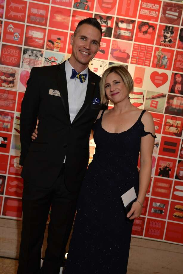 Gala chairs Matt Hendry and Heather Freyer at 29th Annual Human Rights Campaign Gala on Saturday, October 19 at the Westin Saint Francis (photo by Kat Fitzgerald.)