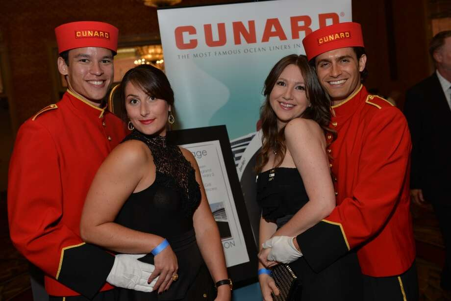 """Cunnard """"porters"""" with guests at the 29th Annual Human Rights Campaign Gala on Saturday, October 19 at the Westin Saint Francis (photo by Kat Fitzgerald.)"""
