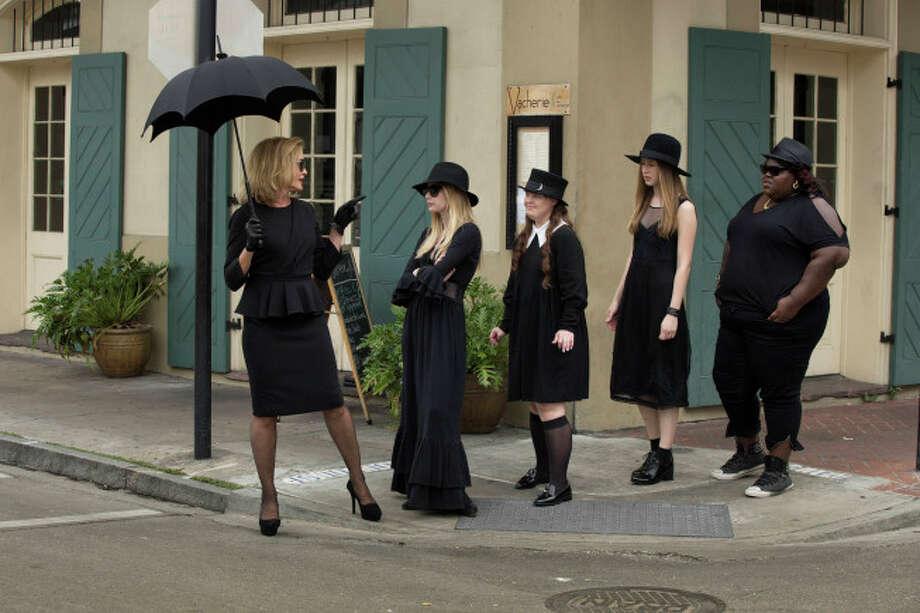 "Witches are taking over television this year, and the ladies of ""American Horror Story: Coven"" are leading the way. Click through the slideshow to see more TV charmers, from ""Witches of East End"" all the way back to Samantha in ""Bewitched."" Photo: Michele K. Short, FX"