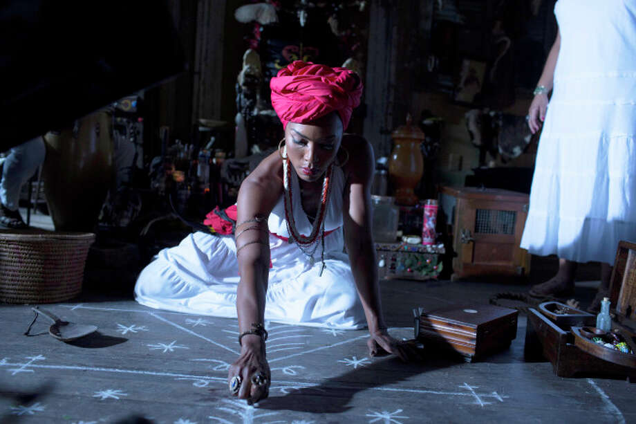 "Angela Bassett as Marie Laveau in ""American Horror Story: Coven."" Photo: Michele K. Short, FX"