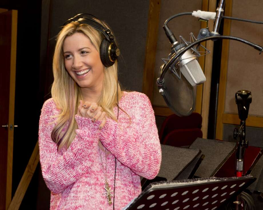 "Ashley Tisdale appears at a recording session for the new animated series ""Sabrina: Secrets of a Teenage Witch."" The Hub TV series debuted on Oct. 12. Photo: Lisa Rose, Associated Press"