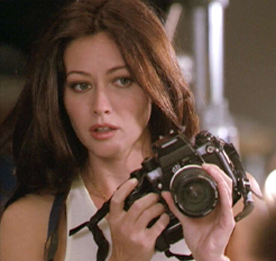 "Prue (Shannen Doherty) of ""Charmed."" Photo: THE WB, TLP"
