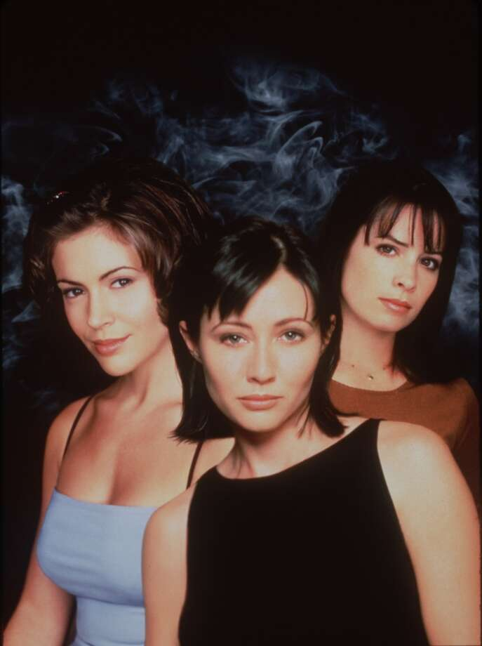 "Alyssa Milano, Shannen Doherty, Holly Marie Combs, stars of ""Charmed."" Photo: Unknown, Warner Bros."