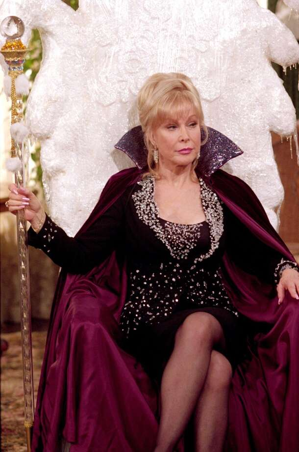 "Barbara Eden as Aunt Irma in ""Sabrina the Teenage Witch,"" 2002. Photo: Paul McCallum, The WB"