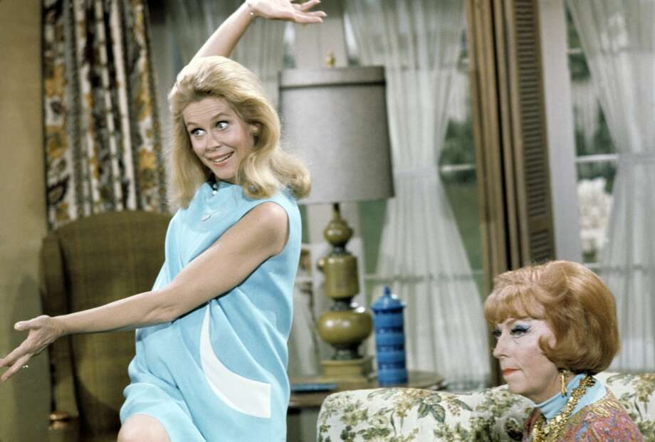 "A scene from the ""Bewitched"" episode ""Samantha's Better Halves"" is shown. Photo: ABC Photo Archives, ABC Photo Archives/Getty Images"