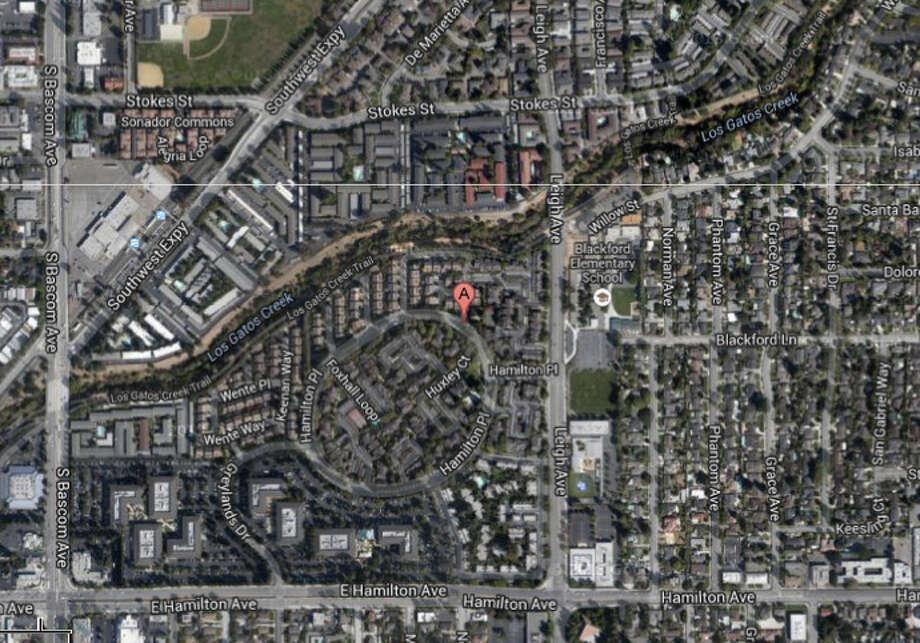 1200 block of Weibel Way, San Jose, CA Photo: Google Maps