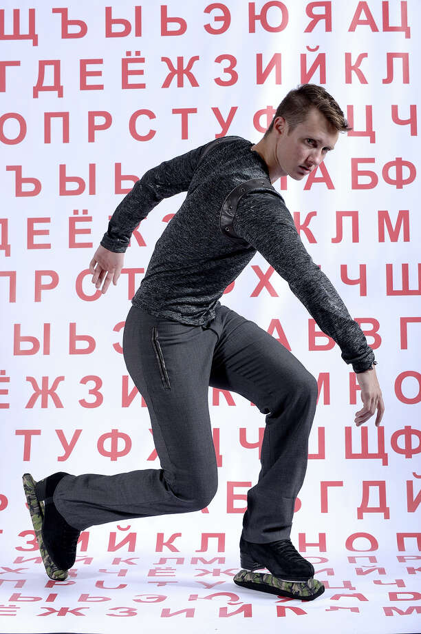 Figure skater Jeremy Abbott poses for a portrait during the USOC Media Summit ahead of the Sochi 2014 Winter Olympics on September 29, 2013 in Park City, Utah. Photo: Harry How, Getty Images / 2013 Getty Images