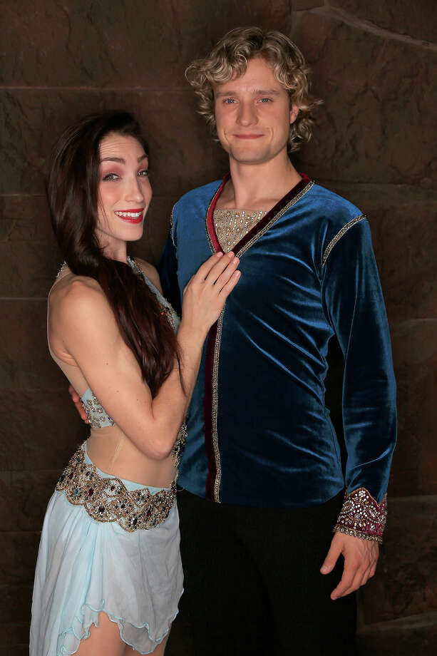 Pairs Skaters Meryl Davis and Charlie White pose for a portrait during the USOC Media Summit ahead of the Sochi 2014 Winter Olympics on October 1, 2013 in Park City, Utah. Photo: Doug Pensinger, Getty Images / 2013 Getty Images