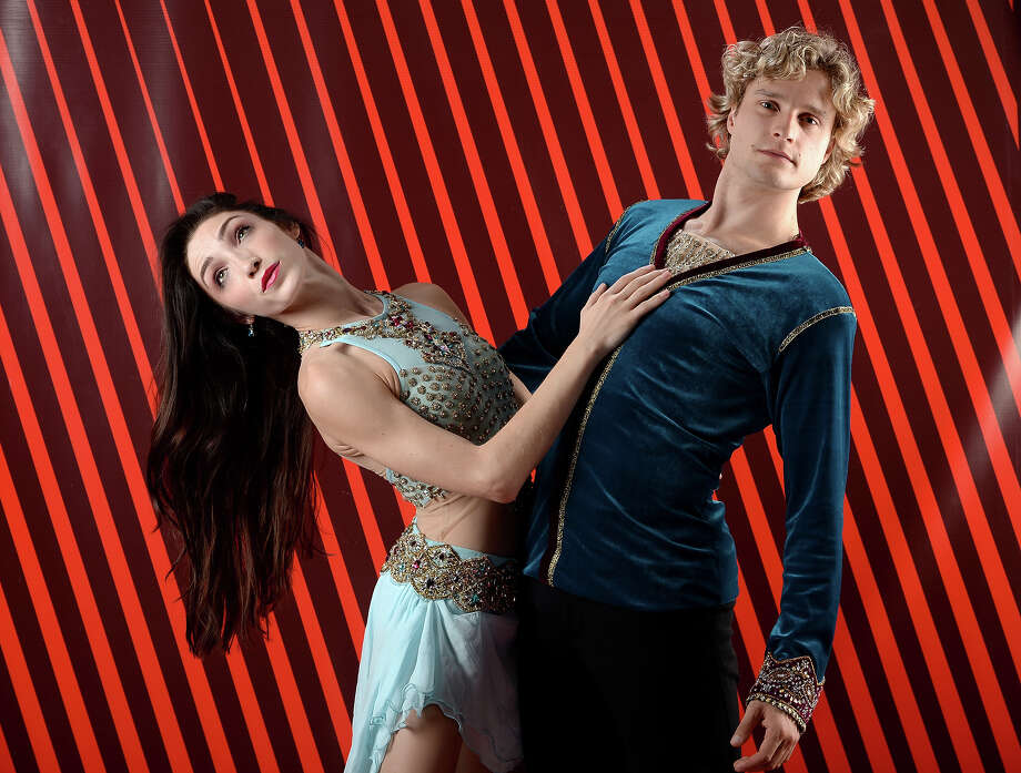 Pairs Skaters Meryl Davis and Charlie White pose for a portrait during the USOC Media Summit ahead of the Sochi 2014 Winter Olympics on October 1, 2013 in Park City, Utah. Photo: Harry How, Getty Images / 2013 Getty Images