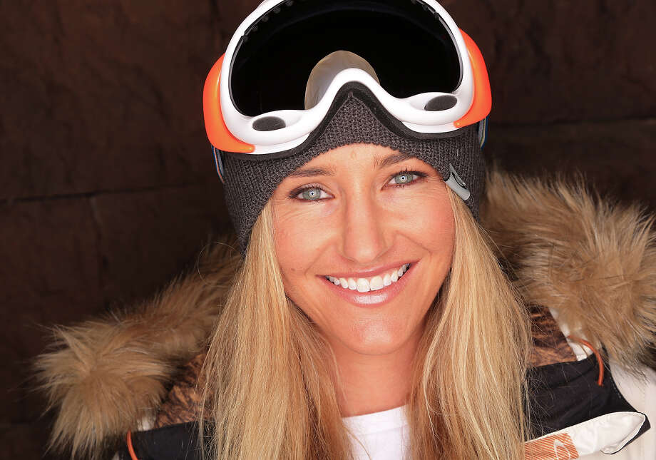 Snowboarder Gretchen Bleiler poses for a portrait during the USOC Media Summit ahead of the Sochi 2014 Winter Olympics on October 2, 2013 in Park City, Utah. Photo: Doug Pensinger, Getty Images / 2013 Getty Images