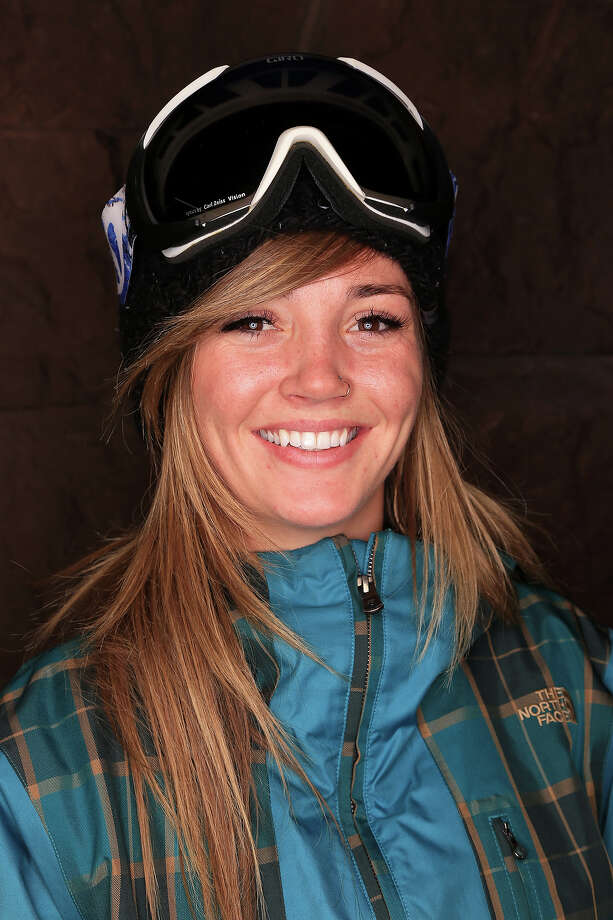 Snowboarder Kaitlyn Farrington poses for a portrait during the USOC Media Summit ahead of the Sochi 2014 Winter Olympics on October 2, 2013 in Park City, Utah. Photo: Doug Pensinger, Getty Images / 2013 Getty Images