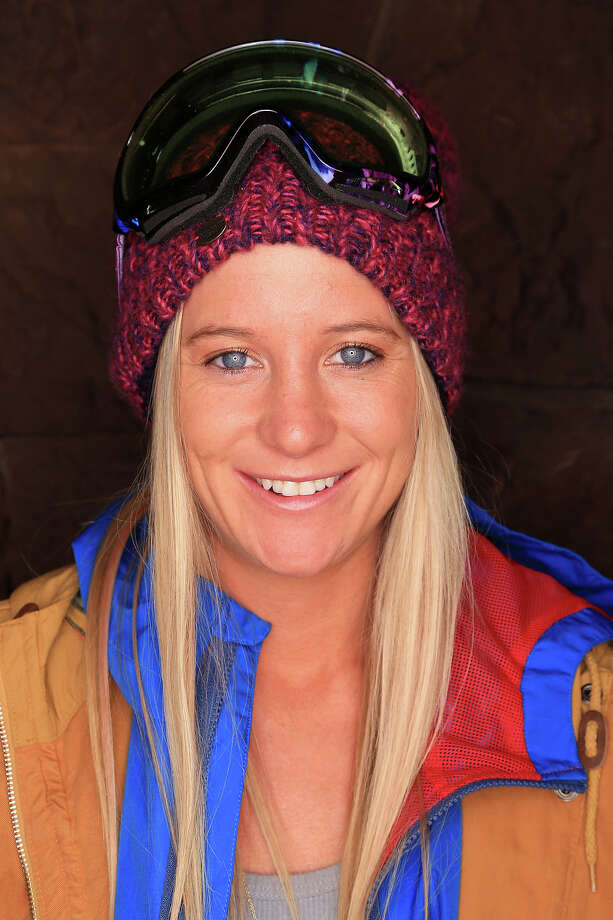 Snowboarder Hannah Teter poses for a portrait during the USOC Media Summit ahead of the Sochi 2014 Winter Olympics on October 2, 2013 in Park City, Utah. Photo: Doug Pensinger, Getty Images / 2013 Getty Images