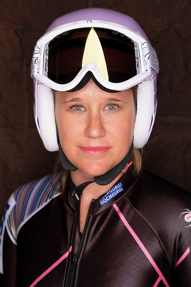 Alpine Skier Alice McKennis poses for a portrait during the USOC Media Summit ahead of the Sochi 2014 Winter Olympics on October 2, 2013 in Park City, Utah. Photo: Doug Pensinger, Getty Images / 2013 Getty Images