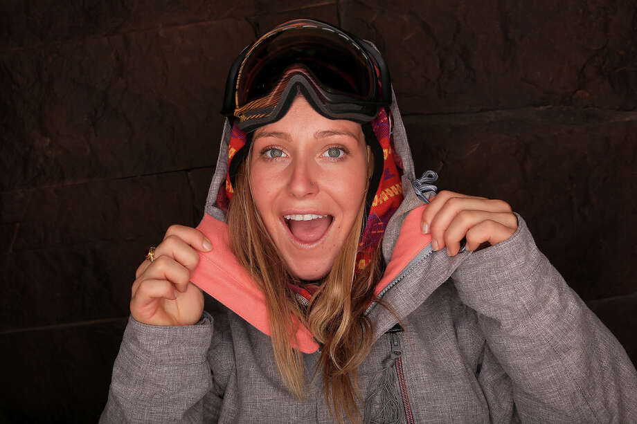 Snowboarder Jamie Anderson poses for a portrait during the USOC Media Summit ahead of the Sochi 2014 Winter Olympics on October 2, 2013 in Park City, Utah. Photo: Doug Pensinger, Getty Images / 2013 Getty Images