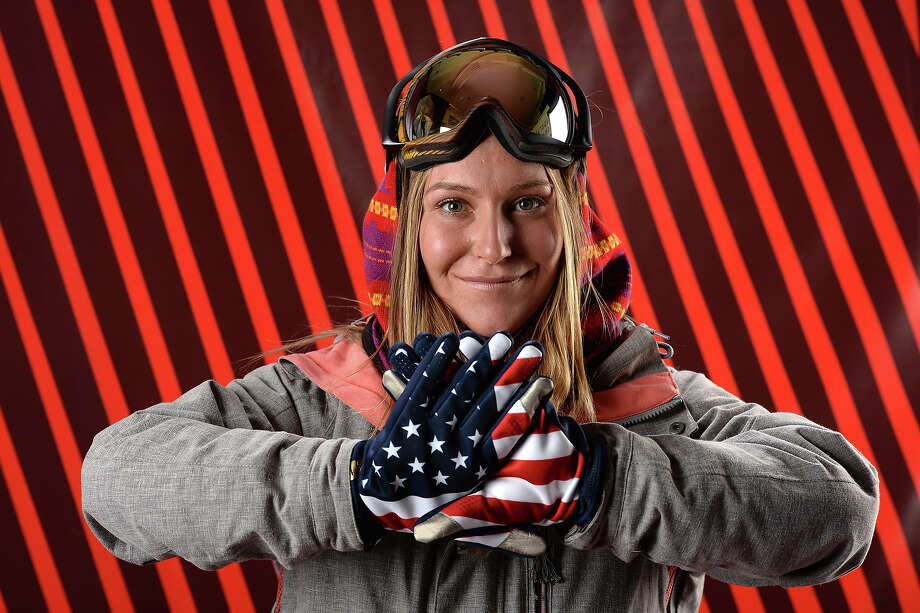 Snowboarder Jamie Anderson poses for a portrait during the USOC Media Summit ahead of the Sochi 2014 Winter Olympics on October 2, 2013 in Park City, Utah. Photo: Harry How, Getty Images / 2013 Getty Images