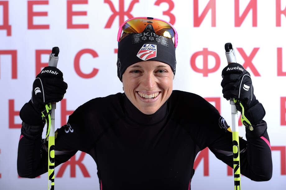 Cross-country skier Liz Stephen poses for a portrait during the USOC Media Summit ahead of the Sochi 2014 Winter Olympics on October 2, 2013 in Park City, Utah. Photo: Harry How, Getty Images / 2013 Getty Images
