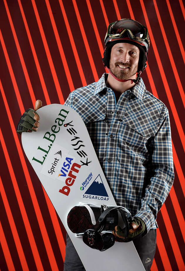 Snowboarder Seth Wescott poses for a portrait during the USOC Media Summit ahead of the Sochi 2014 Winter Olympics on October 2, 2013 in Park City, Utah. Photo: Harry How, Getty Images / 2013 Getty Images
